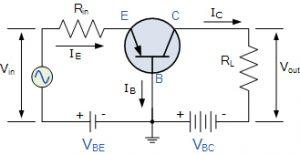 مدار ترانزیستور پایه مشترک
