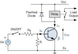 مدار سوئیچینگ ترانزیستور پایه NPN