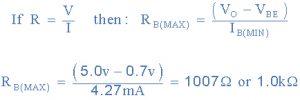 فرمول محاسبه مقدار RB