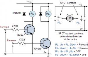 کنترل موتور DC Reversible