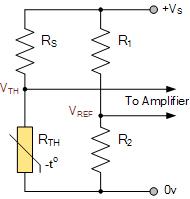 هرچه ترمیستور داغ شود ، ولتاژ خروجی بالاتر